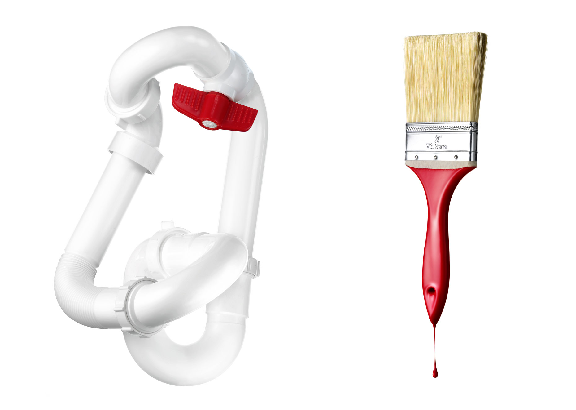 Red-Paint-Brush-white-Tubes